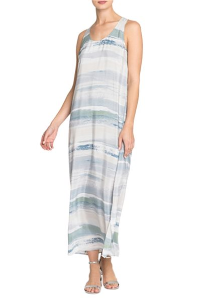 Nic + Zoe - Women's Water Color Dress - Multi