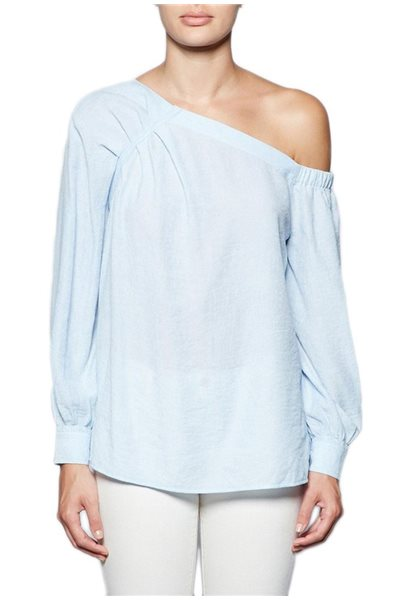 Brochu Walker - Women's Ceola Off Shoulder - Blue