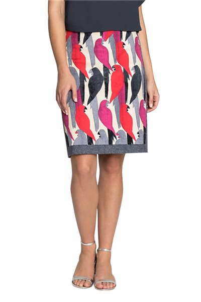 Nic+Zoe - Women's Flying Around Skirt - Multi