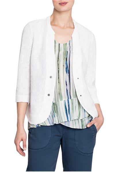 Nic+Zoe - Women's Summer Nights Jacket - Paper White