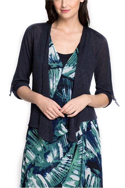 Nic+Zoe - Women's Take Comfort 4 Way Cardy - Blue Print