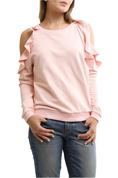 Central Park West - Women's Oakland Cold Shoulder - Pink