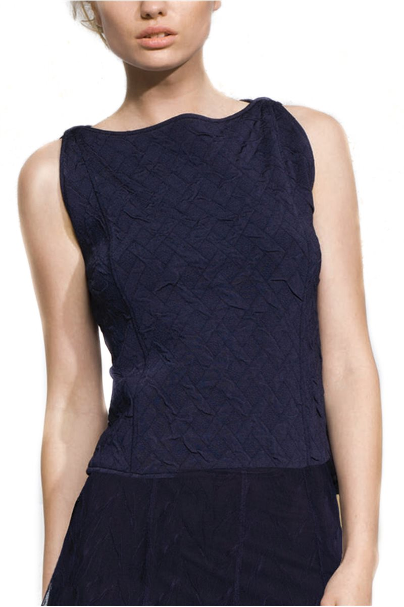Nic+Zoe - Moonstruck Top - Blue Iris