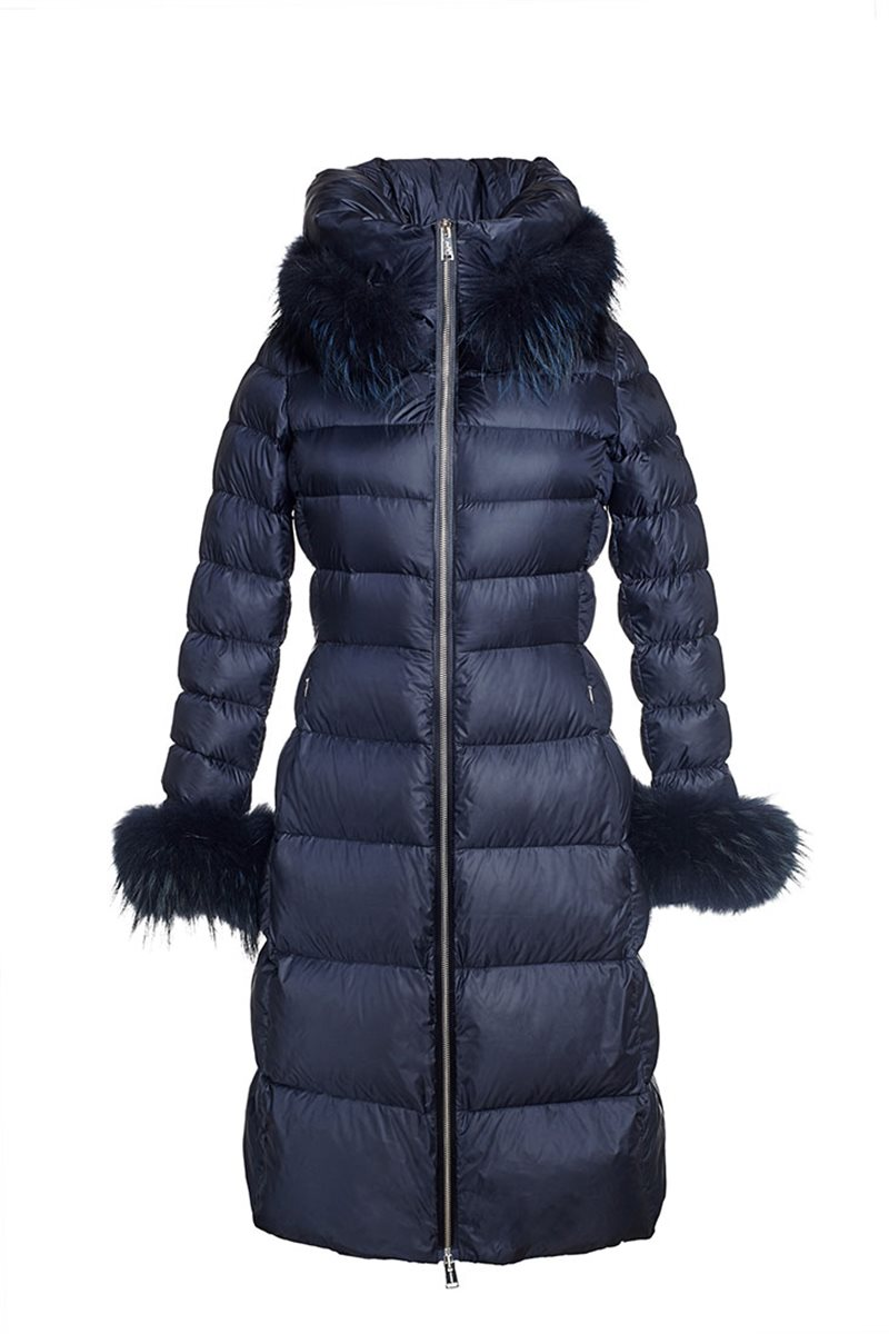 ADD - Down Coat With Fur Trim - Final Sale
