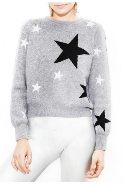 Generation Love - Women's Murray Stars Sweater - Grey