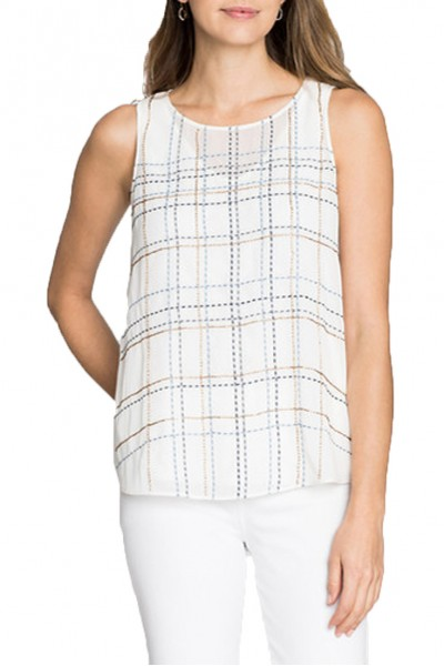 Nic+Zoe - In The Lines Tank - Multi