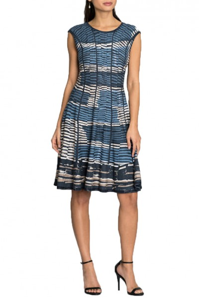 Nic+Zoe - Mesmerize Twirl Dress - Multi