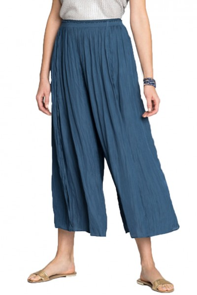 Nic+Zoe - Destination Pant - Indigo Sea