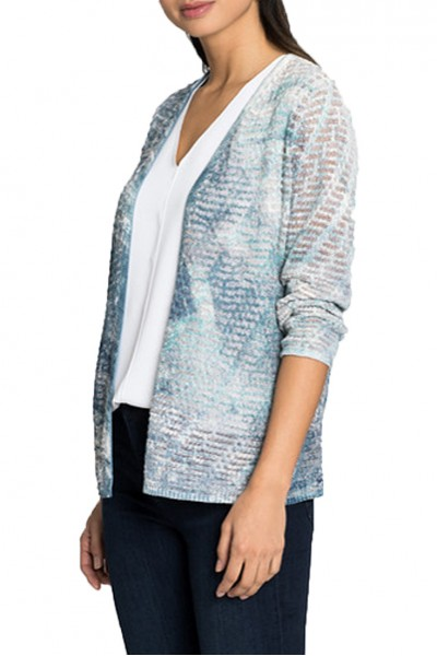 Nic+Zoe - Sea Map Cardy - Multi