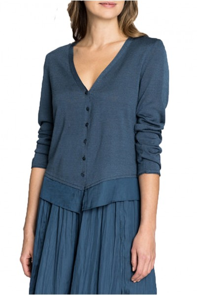 Nic+Zoe - Easy Flow Cardy - Indigo Sea