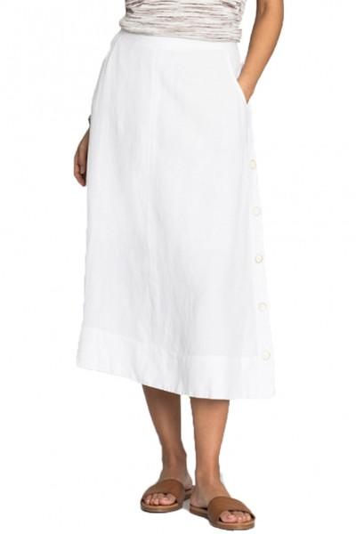 Nic+Zoe - Front Runner Skirt - Paper White