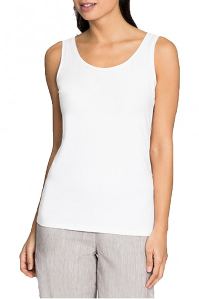 Nic+Zoe - Perfect Stitch Tank - Paper White