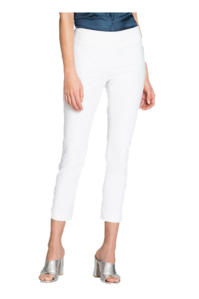 Nic+Zoe - Polished Wonderstretch Pant - Paper White