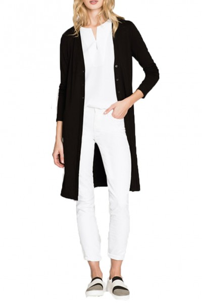 Nic+Zoe - Ease Long Cardy - Black Onyx