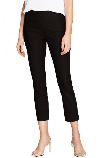 Nic+Zoe - Polished Wonderstretch Pant - Black Onyx