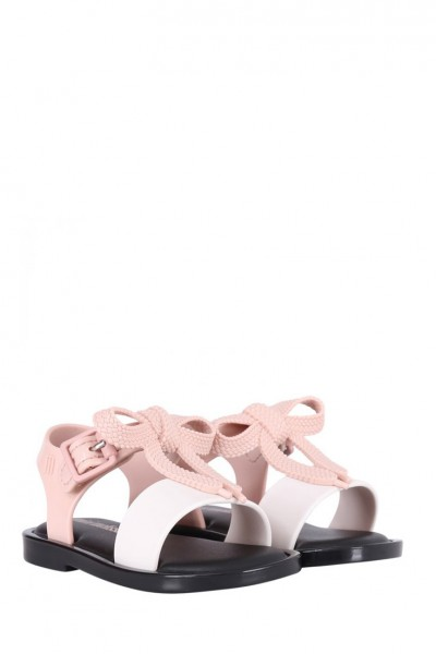 Mini Melissa - Kids Mar Sandal BB - Pink White Black
