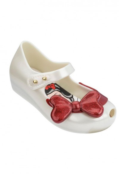 Mini Melissa - Kids Ultragirl + Snowwhite BB - White Blue Red