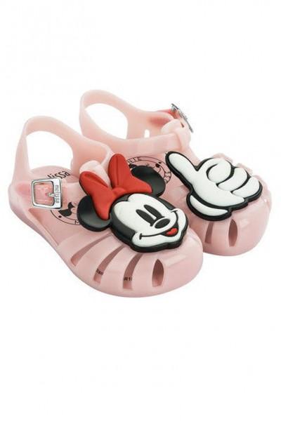 Mini Melissa - Kids Mini Aranha Disney Fun Shoe - Pink White