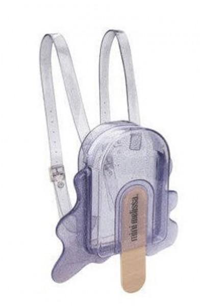 Mini Melissa - Kids Bag Pack - Silver Glitter
