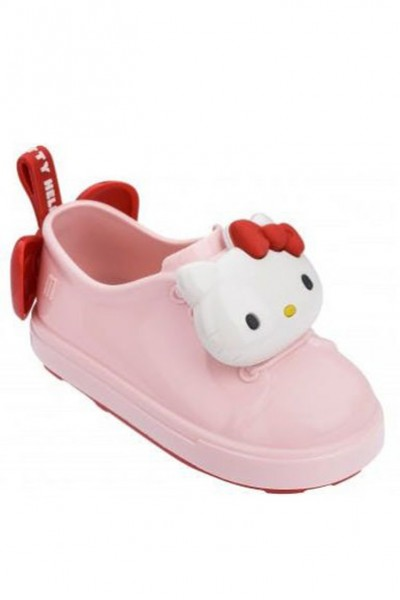 Mini Melissa - Kids Be + Hello Kitty RR - Pink White Red