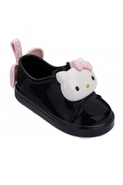 Mini Melissa - Kids Re + Hello Kitty RR - Black