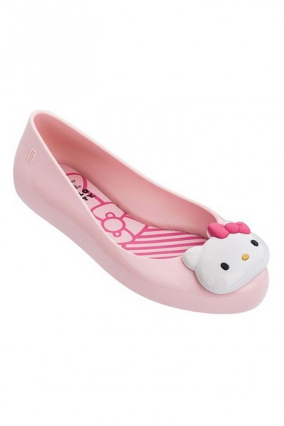 Mini Melissa - Kids Mel Space Love + Hello Kitty Inf - Pink Red
