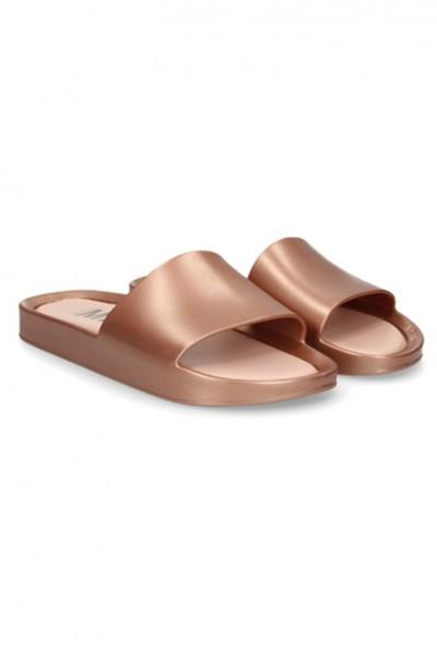 Melissa - Women's Flat Sandals - Rose Gold