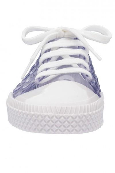 Melissa - Women's Polibolha Sneaker Ad - Clear Glitter Pink White