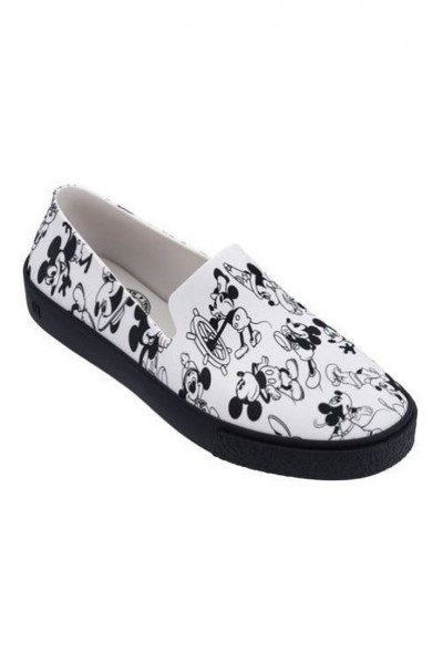 Melissa - Women's Melissa Ground + Mickey - Black Flocked