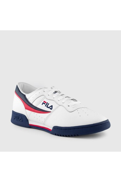 Melissa - Women's Sneaker + Fila - White Navy Red