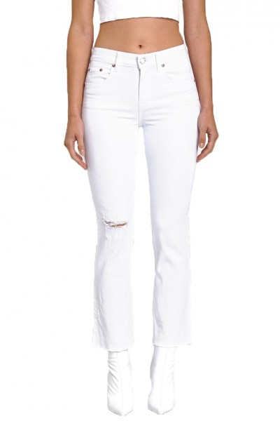 Pistola - Lennon High Rise Cropped Boot Pant - Ice Breaker