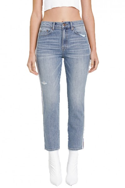 Pistola - Monroe Mid Rise Crop Cigarette Pant - New Haven