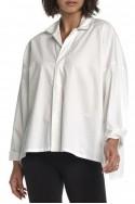 Planet - Crop Shirt - White