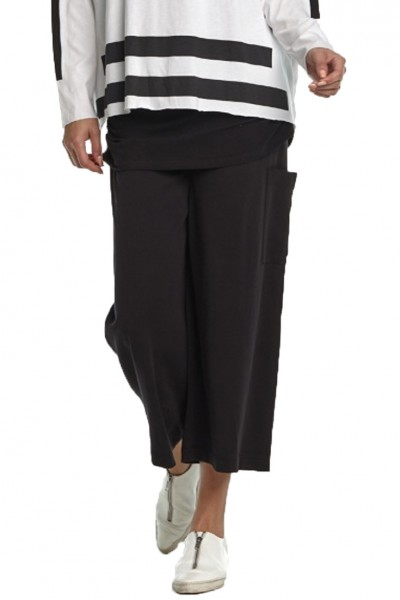 Planet - SP19A - Gaucho Pant - Black