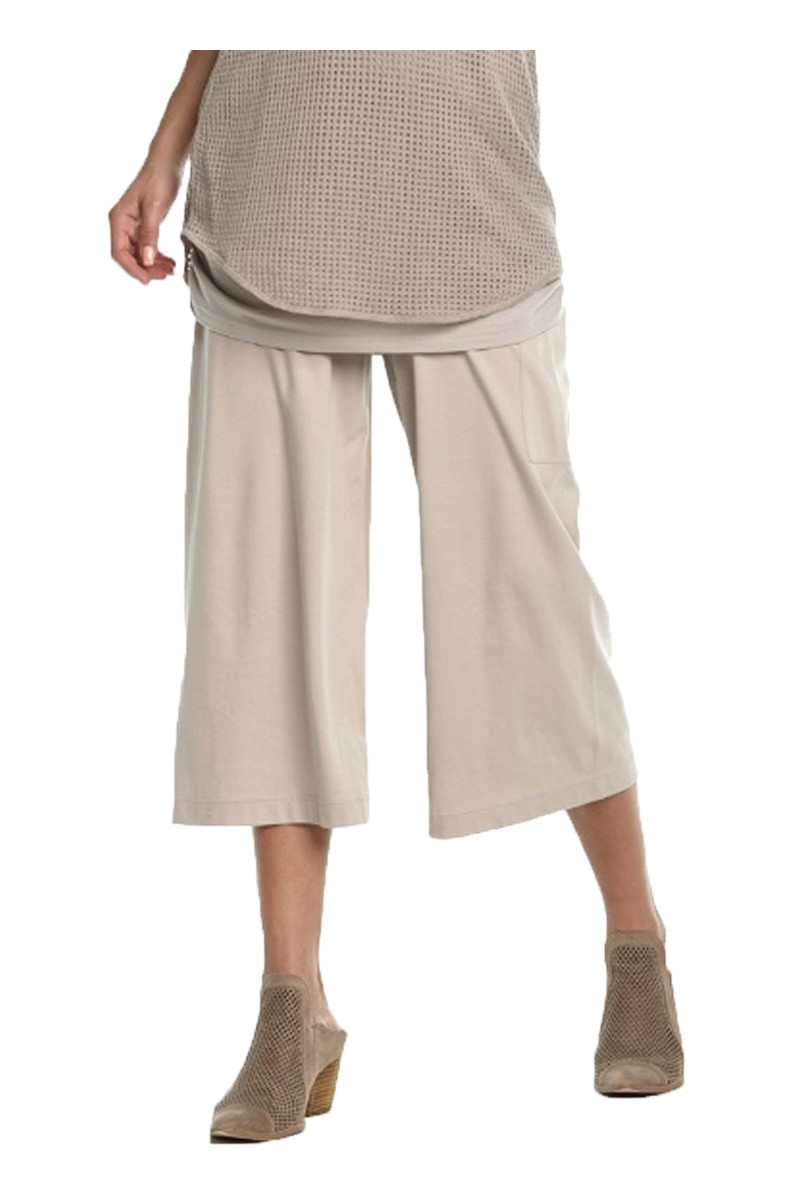 Planet - SP19A - Gaucho Pant - Oyster