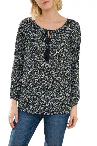 Mystree - Top - Navy Multi