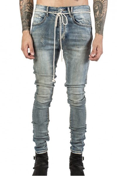 Kollar - Men's Essential Denim - Sand Blue
