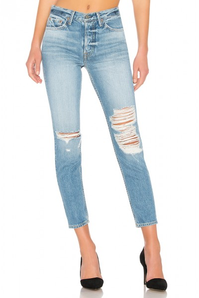 Grlfrnd - Women's Karolina High Rise Skinny - Bay Blues