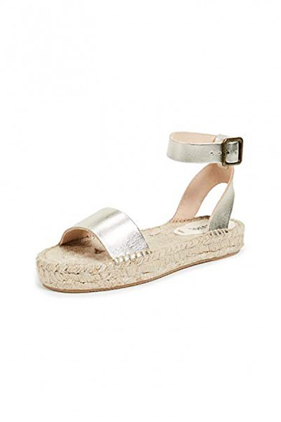 Soludos - Women's Cadiz Sandals - Platinum