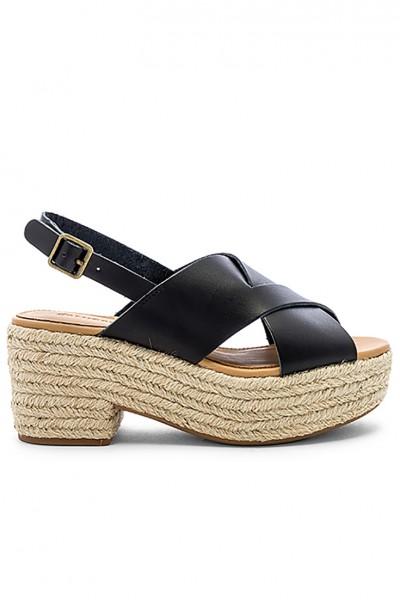 Soludos - Women's Amalfi Platform Heel - Black