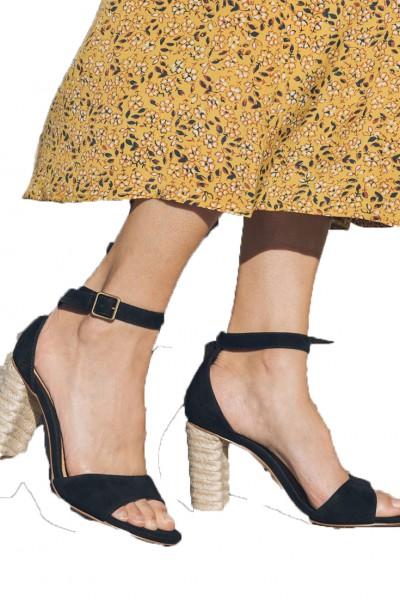 Soludos - Women's Tall Capri Heel - Black