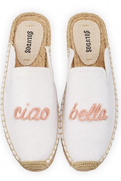 Soludos - Women's Mules Cia Bella - White