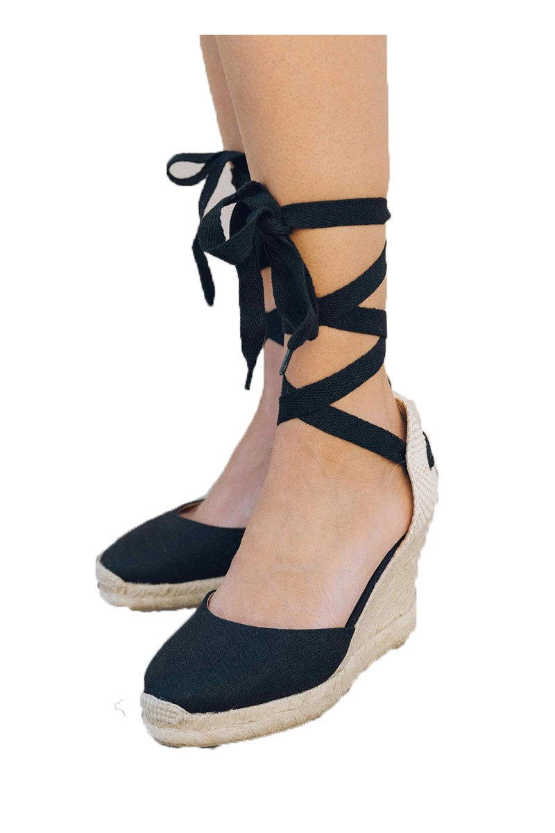 4da92f46db1 Soludos - Women's Classic Tall Wedge - Black