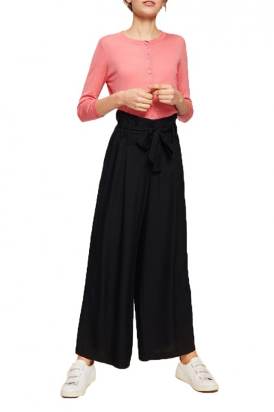 Tara Jarmon - Women's Light Crepe Pant - Noir