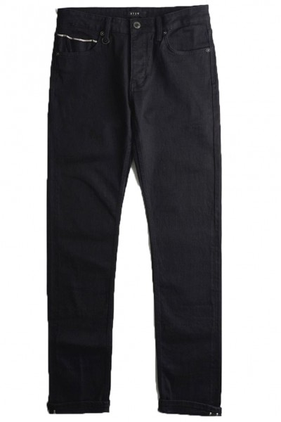 Neuw - Men's Lou Slim Core - Black Selvedge