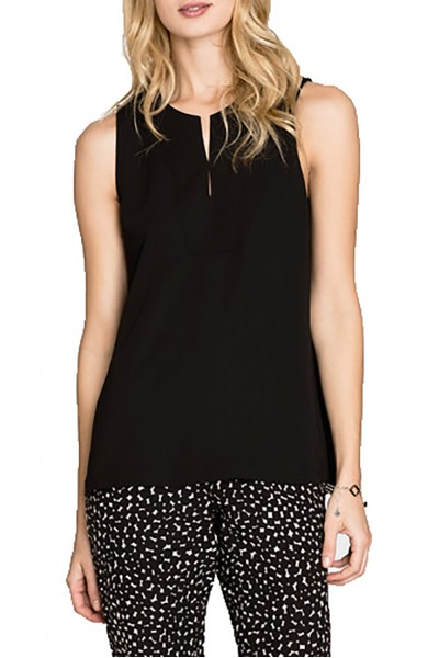 Nic+Zoe - Chill Out Tank - Black Onyx