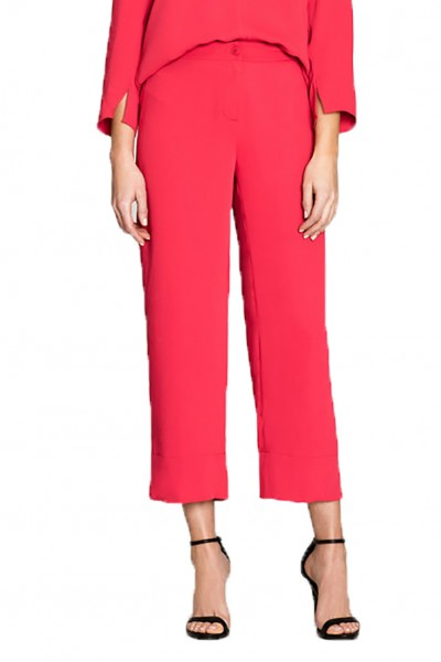 Nic+Zoe - Harbour Town Pant - Cosmo Red