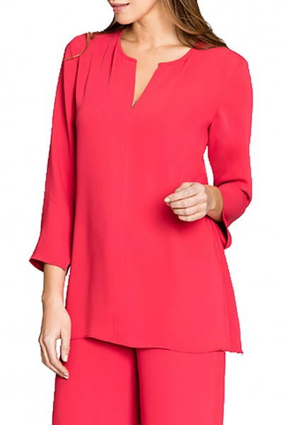 Nic+Zoe - Harbour Town Top - Cosmo Red