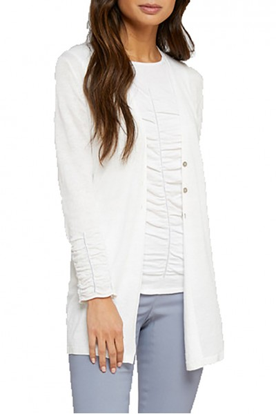 Nic+Zoe - Ruche Cardy - Paper White