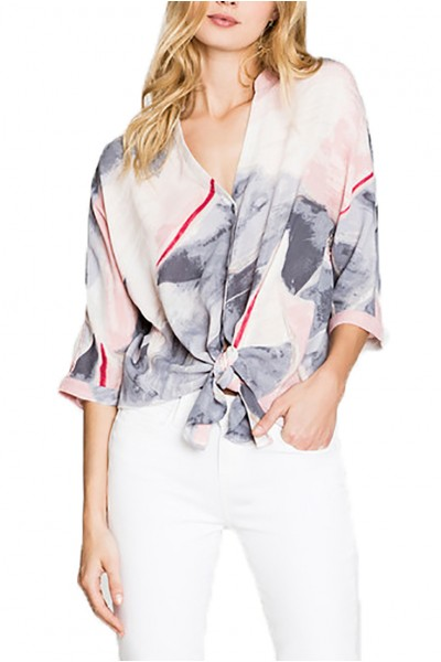 Nic+Zoe - Sail Away Top - Multi